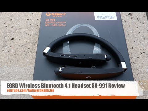 EGRD Wireless Bluetooth 4 1 Headset SX-991 Review