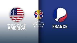 USA v France - Highlights | FIBA Basketball World Cup 2019