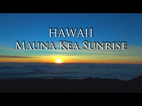 Mauna Kea Sunrise - Big Island, Hawaii