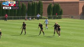 EWU Soccer Highlights  vs. Northern Arizona (Sept. 24, 2017).