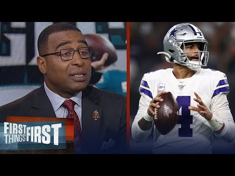 Cris Carter Breaks Down Cowboys 'dominant' Performance Over The Eagles | NFL | FIRST THINGS FIRST