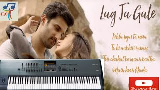 Tere mere pyaar nu nazar na lage (lag ja gale) | keyboard | piano tutorial | Chitransh sharma