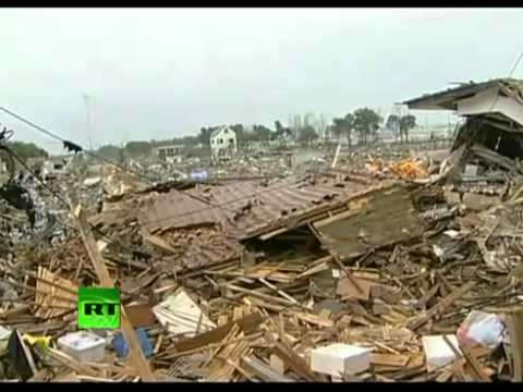 Ghost Island- Apocalyptic scenes in tsunami worst-hit Japan areas