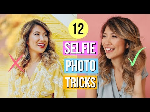 How to Take the Perfect Selfie! 12 Photography Tricks for Better Instagram Photos!