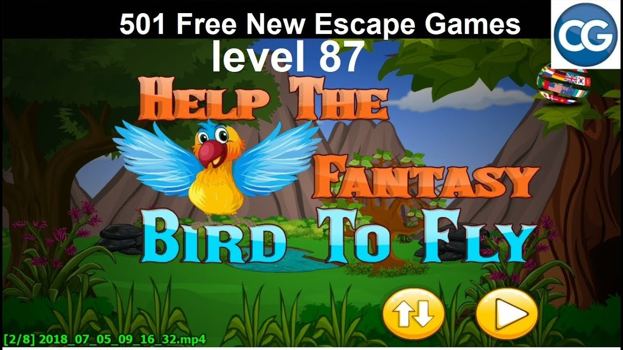 501 escape games level 50 up to end walkthrough - YouTube