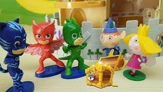 I PJ MASKS SUPER PIGIAMINI IN PISCINA CON BEN E HOLLY - Full episodes con giocattoli per bambini