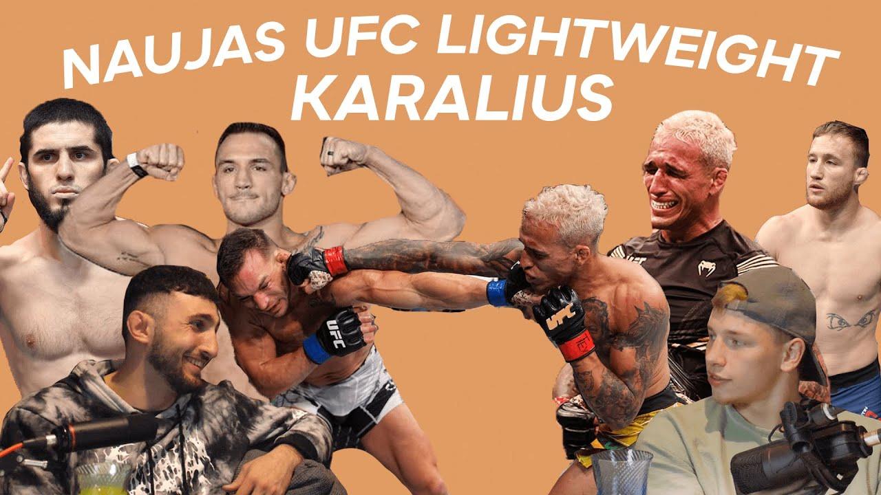 Download BANKE #2: NAUJAS UFC LIGHTWEIGHT KARALIUS?