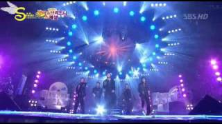 [CassELF][Vietsub - Engsub][Debut perf] 031126 SBS O Holy Night, Hug - DBSK ft. BoA.avi