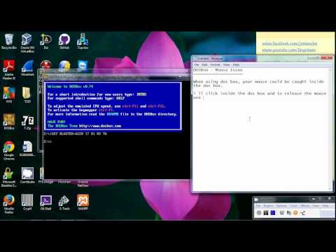 DosBox - Mouse Issue - CTRL + F10 - YouTube