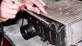 как отремонтировать радиатор Toyota - YouTube