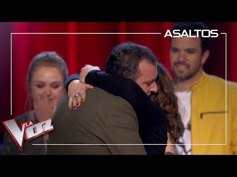 Javi Moya y Lia Kali se quedan en el equipo Antonio | Asaltos | La Voz Antena 3 2019