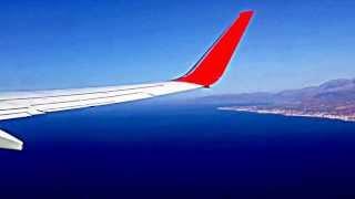 Взлет с острова Крит. Июль 2012.(, 2013-06-29T20:12:14.000Z)