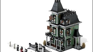 LEGO Monster Fighters Haunted House 10228 Review and placed in the Custom City