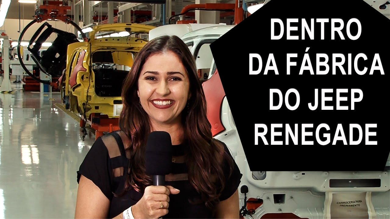 Dentro Da F U00e1brica Do Jeep Renegade
