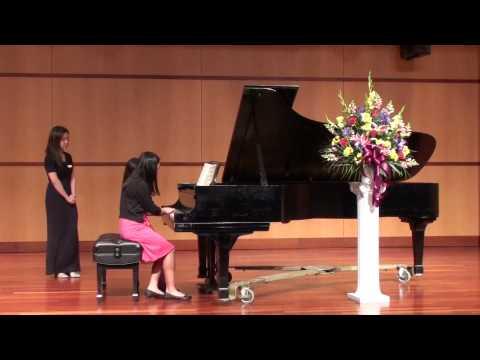 "Mozart ""A Little Night Music"" Piano Duet - Callia & Sophia Tong"