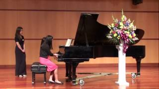 "Mozart ""A Little Night Music"" Piano Duet - Callia & Sophia Tong"