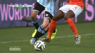 Нидерланды Аргентина Чемпионат Мира 2014  Весь Матч