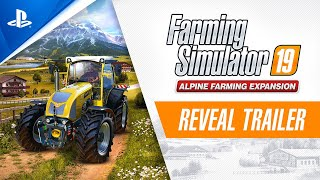 Farming Simulator 19 | Alpine Farming Expansion Reveal Trailer | PS4
