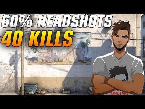 ScreaM 40 kills on Dust2 - 60% Headshots ★ CS:GO