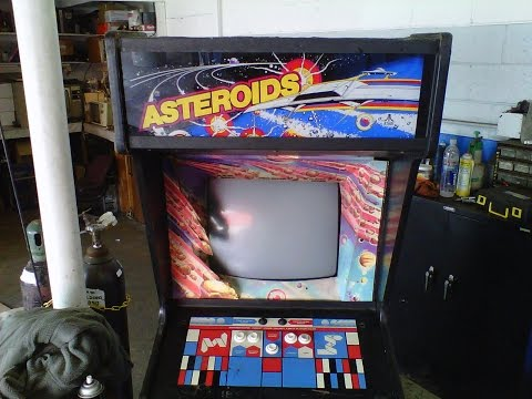 Atari Asteroids Console Video Game Repair