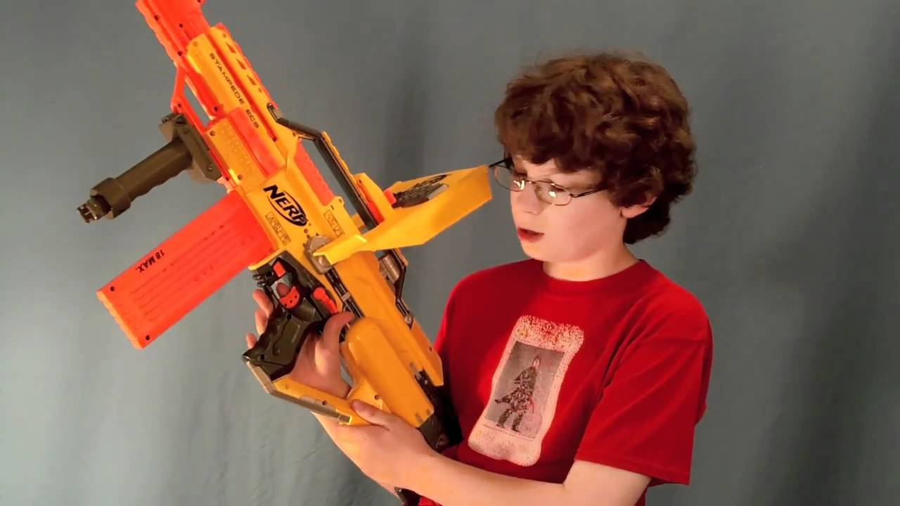 Nerf Stampede Ecs 50 Review Youtube