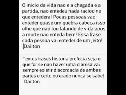 Dailton Andrade Soares Frases Penssamentos O Que E Bom Pra Mim O