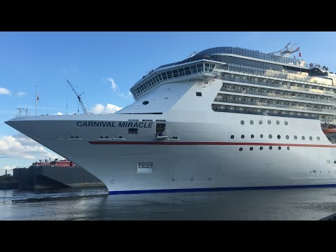 Carnival Miracle Departure From Port Of Tampa
