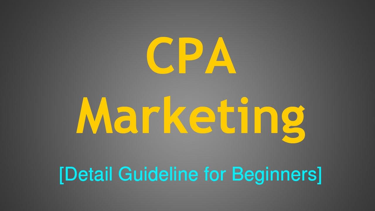Image result for CPA Marketing Full Guide beginner