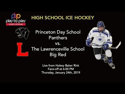 Ice Hockey: Princeton Day School vs. Lawrenceville from Princeton University