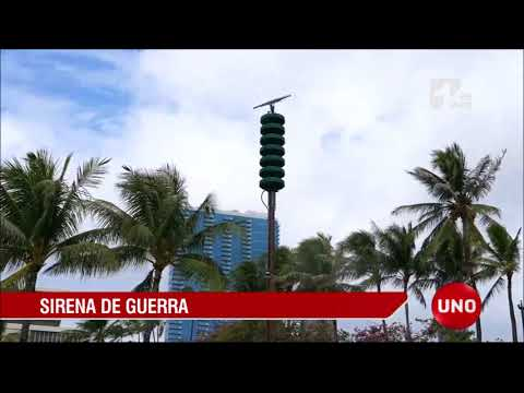 Después de 76 años, volvieron a sonar las sirenas en Hawaii por alerta de misil