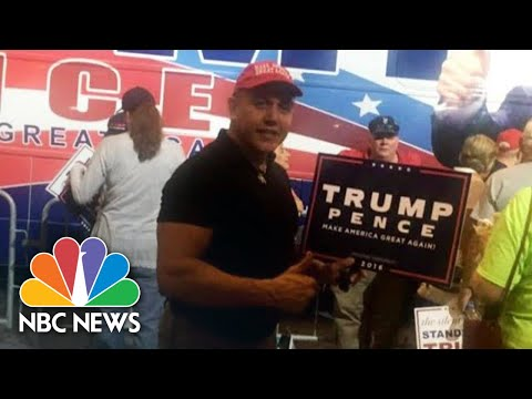 Hear What President Donald Trump Said During Campaign Rally Attended By Bomb Suspect | NBC News