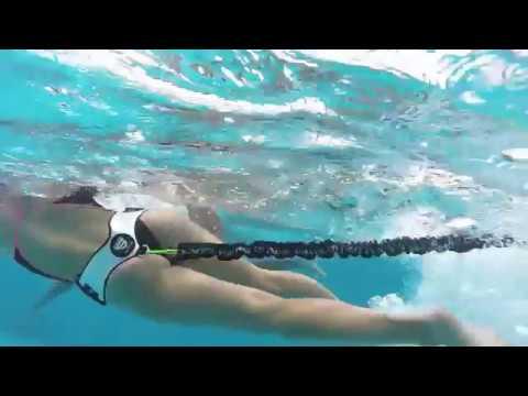 Stationary Swimming Tether Static Swim System Youtube