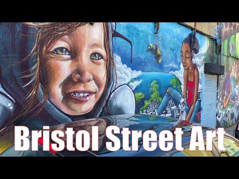 Bristol Street Art 2021 - Full Documentary + Banksy