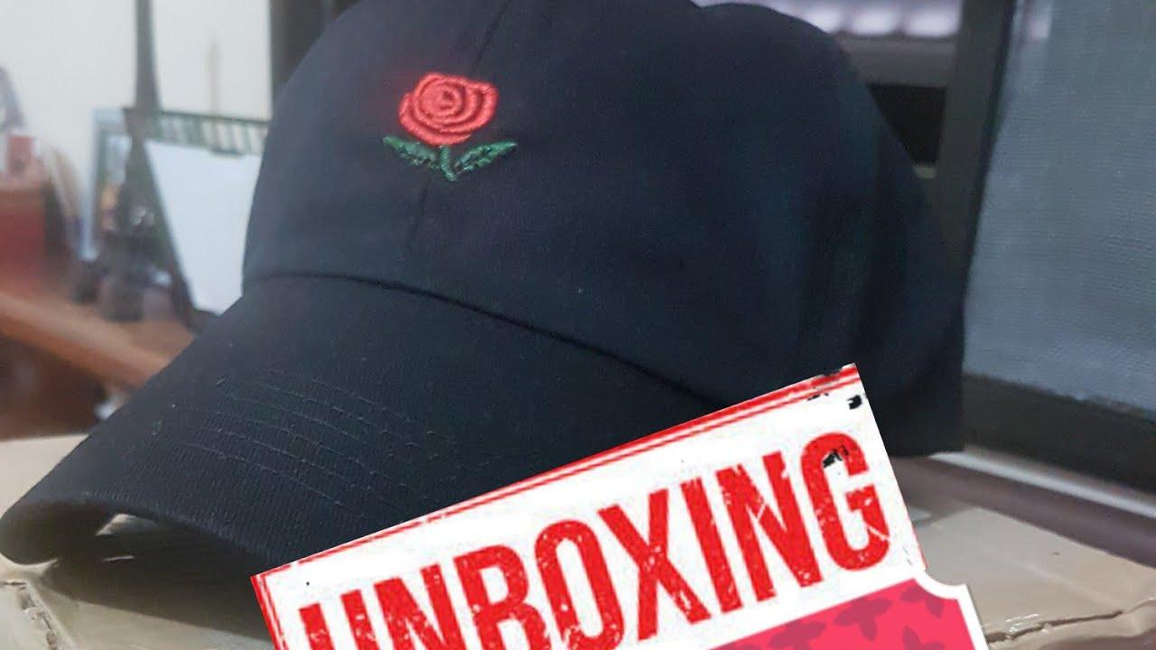 Unboxing Boné Rose d239815ba58
