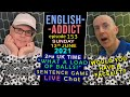A load of balls - English Addict #153 - LIVE from England - Sun13th June 2021 - Football phrases