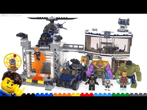 LEGO Avengers Endgame Compound Battle review 76131