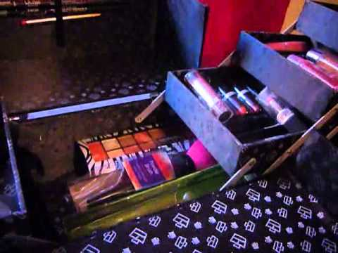 como hacer maletin de maquillaje