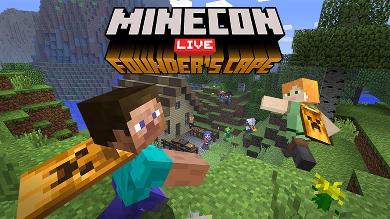 Minecraft: Atualização Founder's Cape e Criador de Skins (MINECON 9)
