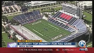 Stadium sold out as FAU takes on the University of Miami in Football