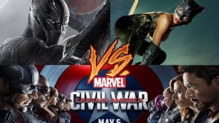 Black Panther & Catwoman vs Captain America & The Avengers Fan-Made Trailer