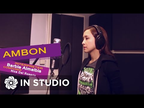 Barbie Almalbis - Ambon (Official Recording Session with Lyrics)