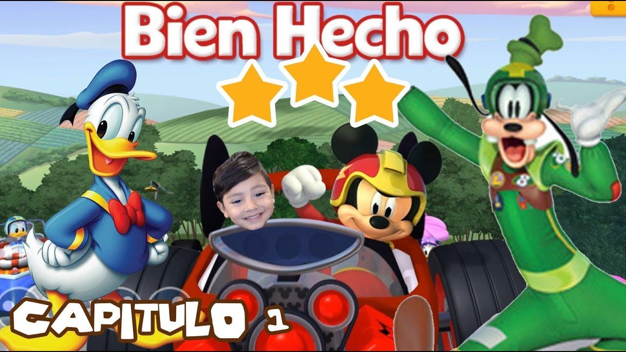 Juego Para Niños Pequeños Mickey Y Los Super Pilotos Capitulo 1 Juegos Disney Jr Youtube
