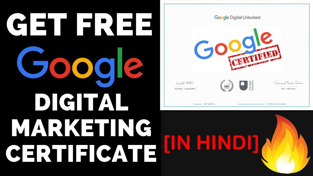 Recent articles subscribe © 2020 the manifest Google Digital Marketing Course & Certificate Free | Free ...