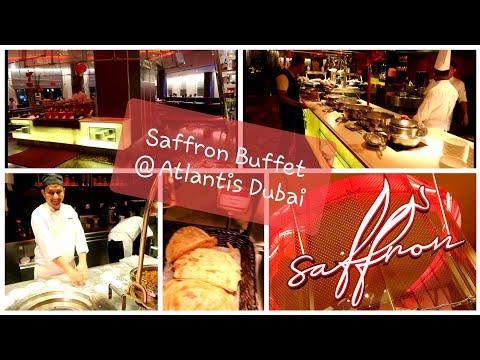 Saffron Buffet at Atlantis Dubai full review #asia