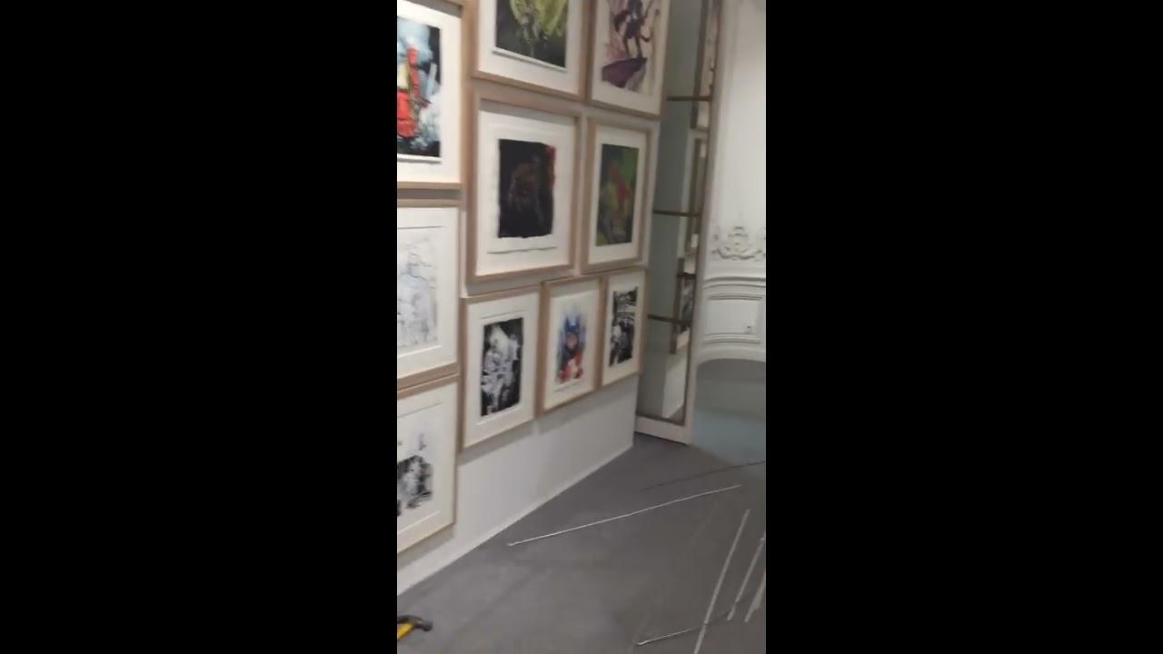 52182ce8b99 Walkîng dead   hellboy original art auction - Paris - Cornette de Saint Cyr  - 02 22 2017