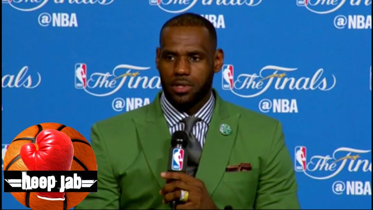 LeBron James| Kyrie Irving| NBA Finals| Game 4 Post Game Press conference. - YouTube