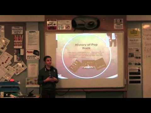 my presentation about my music magazine ideas