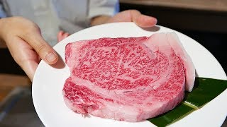 $200 PRIME KOBE BEEF JAPANESE TEPPANYAKI Sirloin Steak Japan