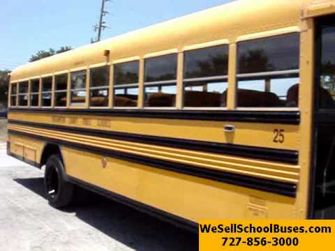 1997 GMC Bluebird school bus Big Block gasoline v8, 5 speed manual - 1338