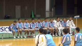 MAH01152 20140806横浜創学館ー小林秀峰 ハンドボール大会